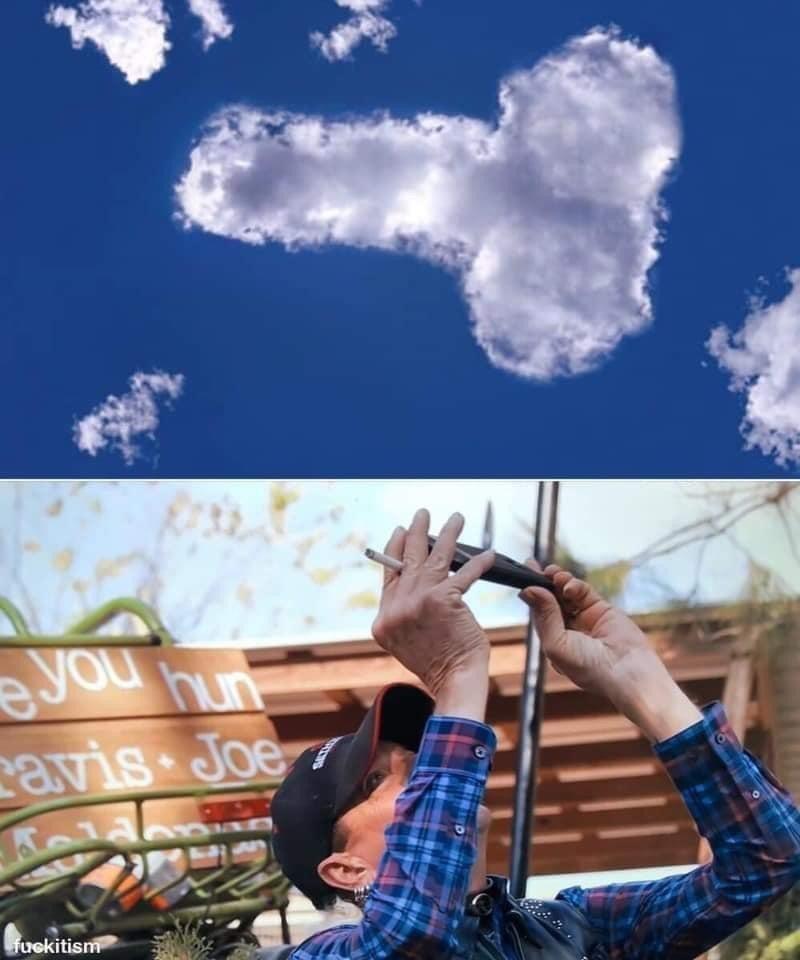 Cloud - you nun cavis Joe fuekitism