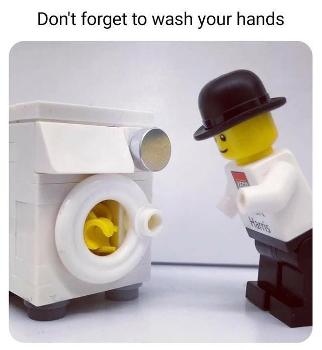 Toy - Don't forget to wash your hands Haris