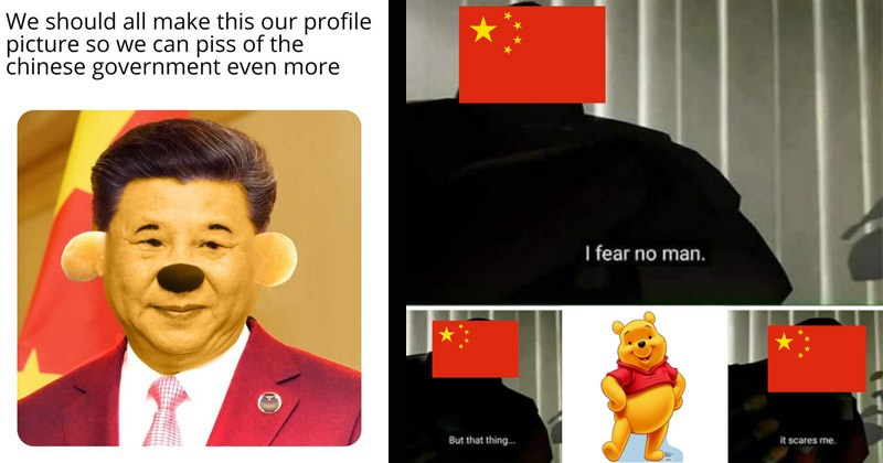 Funny dank memes about Chinese president's supposed resemblance to Winnie the Pooh