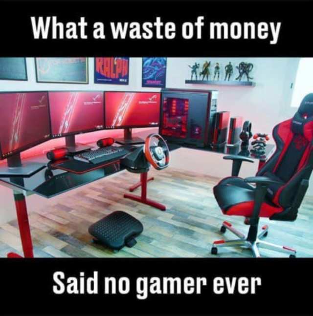 Furniture - What a waste of money Said no gamer ever ***