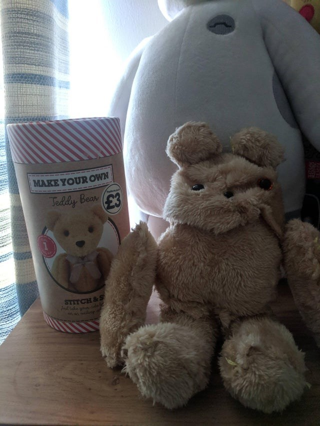 Stuffed toy - MAKE YOUR OWN Jeddy Bear huilkorad £3 STITCH&S