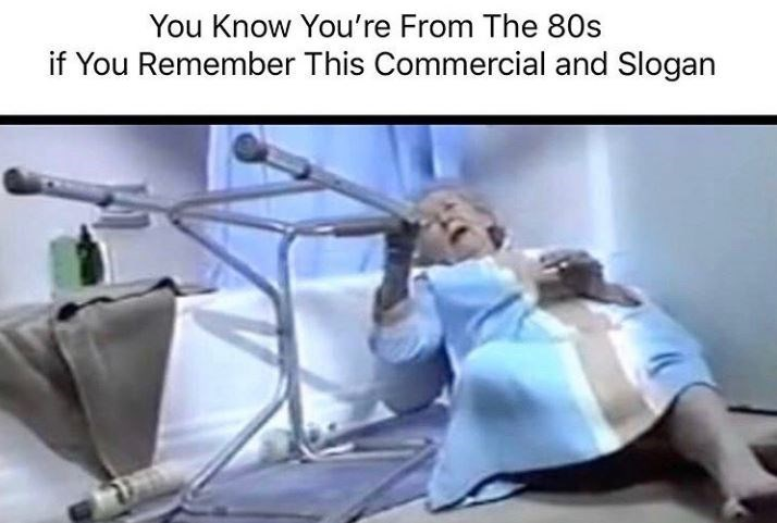 Hospital - You Know You're From The 80s if You Remember This Commercial and Slogan