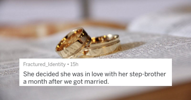 People that got separated or divorced in a year share when they knew it was a mistake.