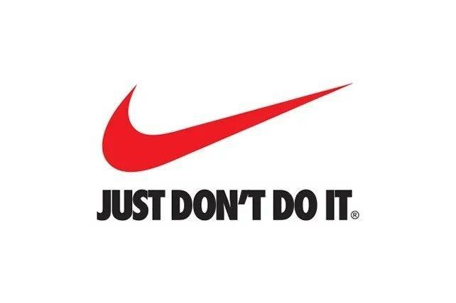Logo - JUST DON'T DO IT.