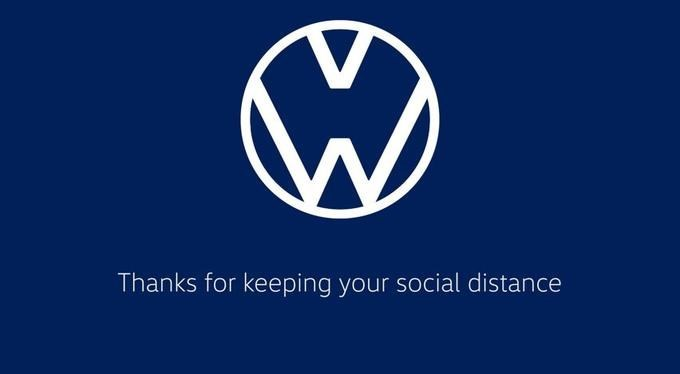 Logo - Thanks for keeping your social distance