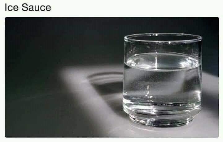 Water - Ice Sauce