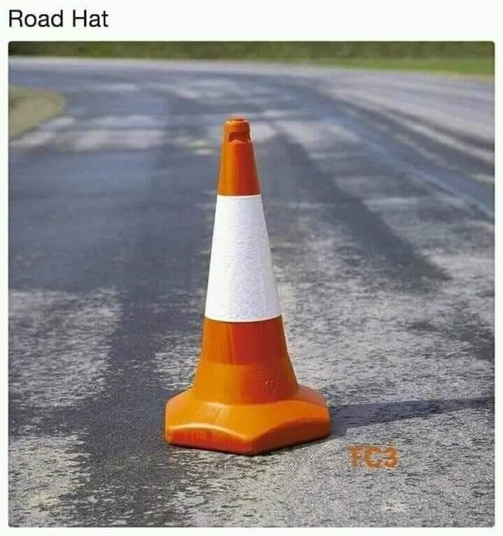 Cone - Road Hat TAI