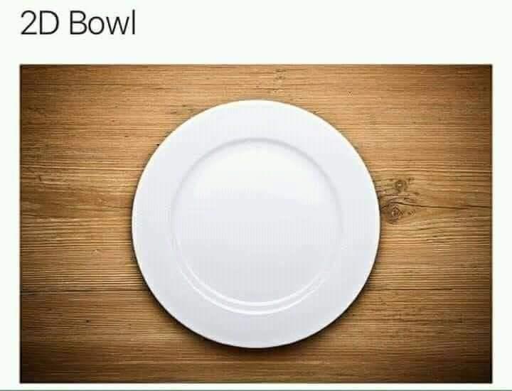 Dishware - 2D Bowl