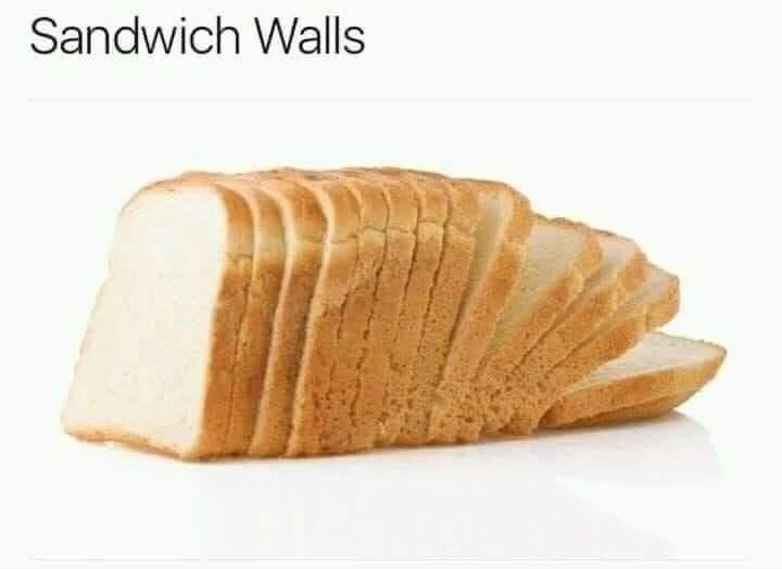 Sliced bread - Sandwich Walls
