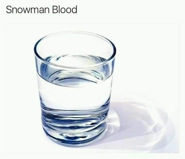 Water - Snowman Blood