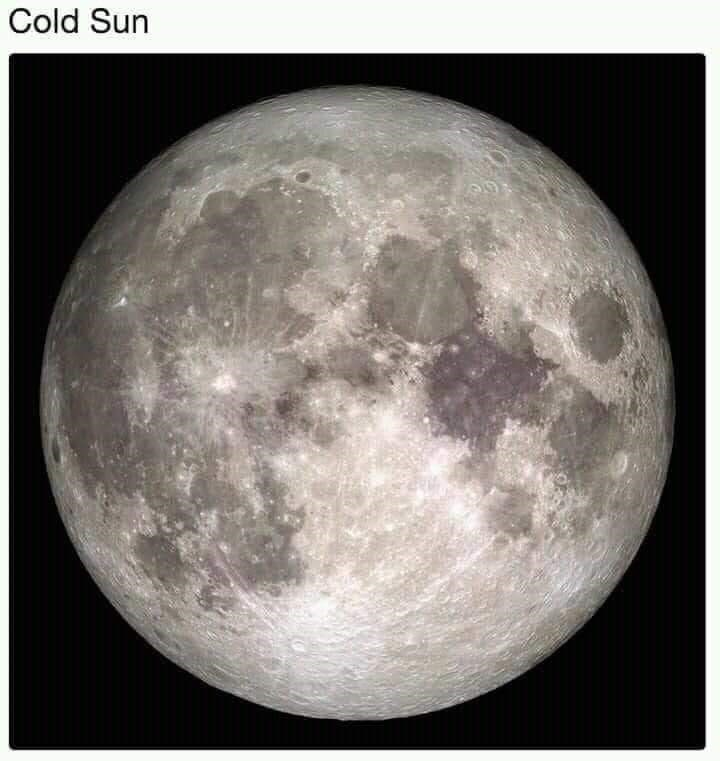 Moon - Cold Sun