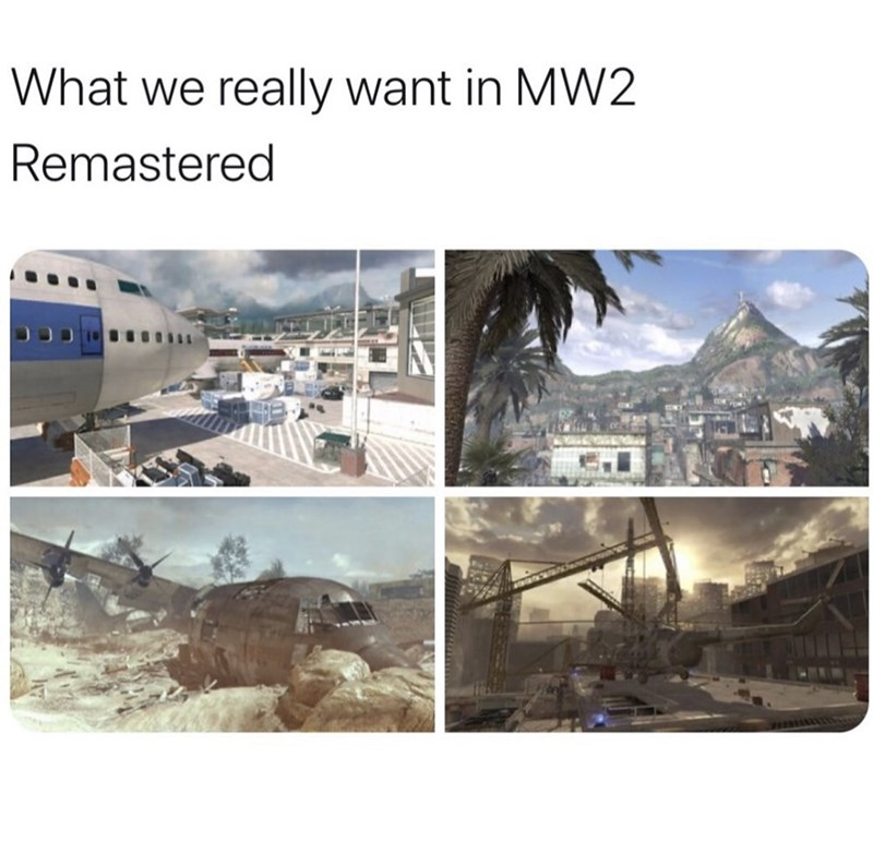 Text - What we really want in MW2 Remastered