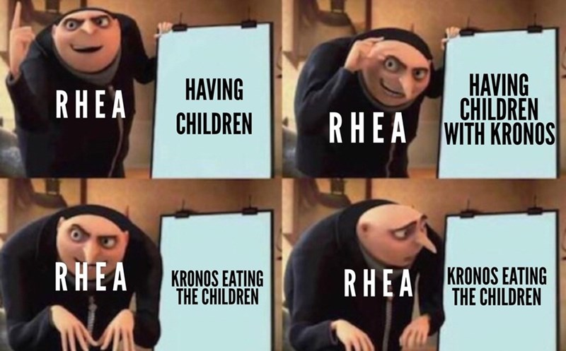 Facial expression - HAVING CHILDREN RHEA WITH KRONOS HAVING RHEA CHILDREN RHEA KRONOS EATING THE CHILDREN RHEA KRONOS EATING THE CHILDREN
