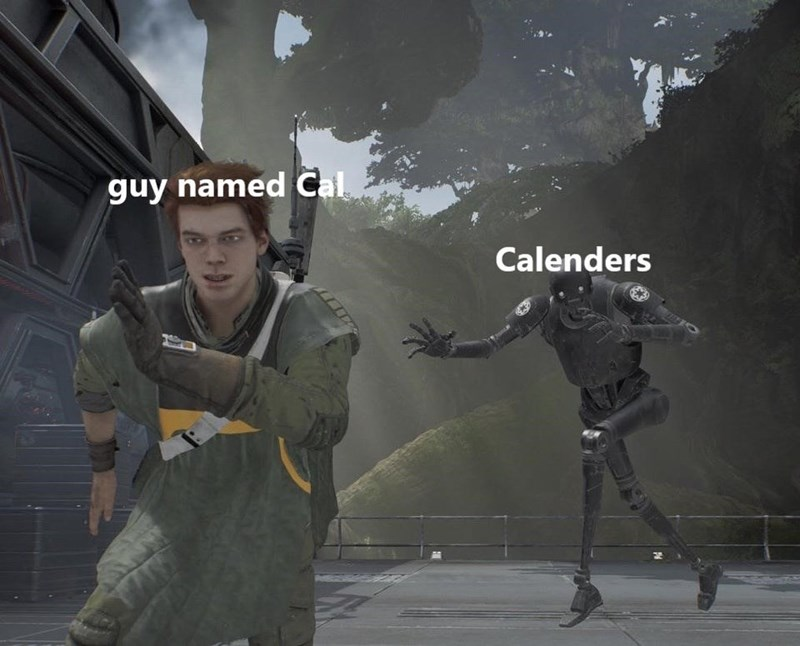 Action-adventure game - guy named Cal Calenders