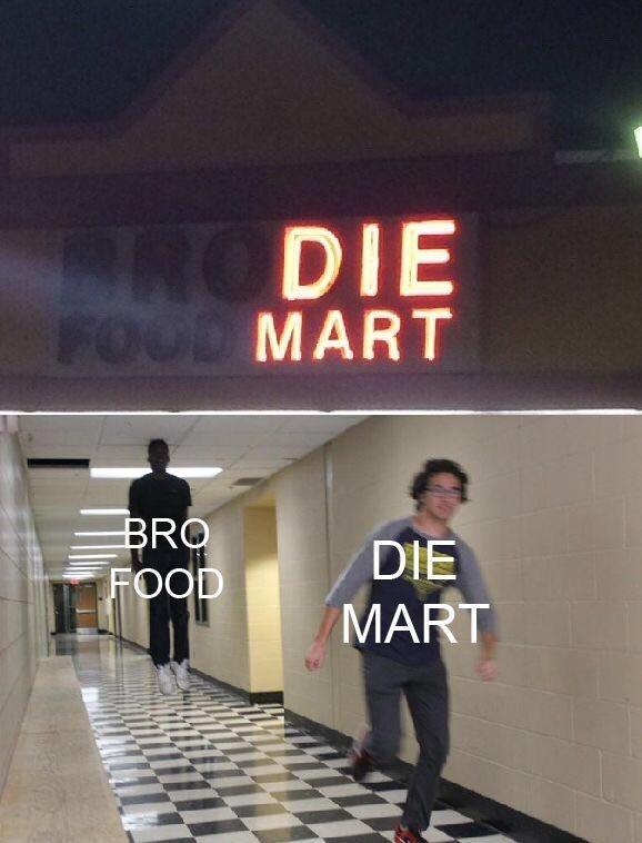 Font - BRODIE FOOD MART BRO FOOD DIE MART