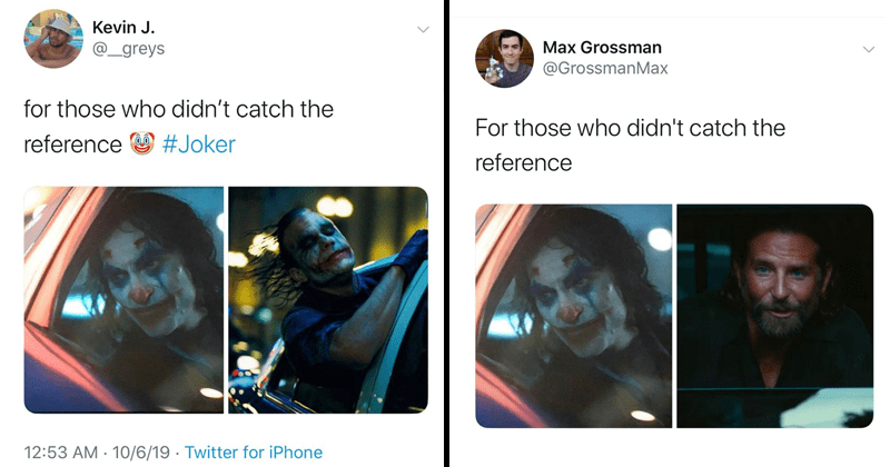 funny tweets about joker, for those who didn't catch the reference