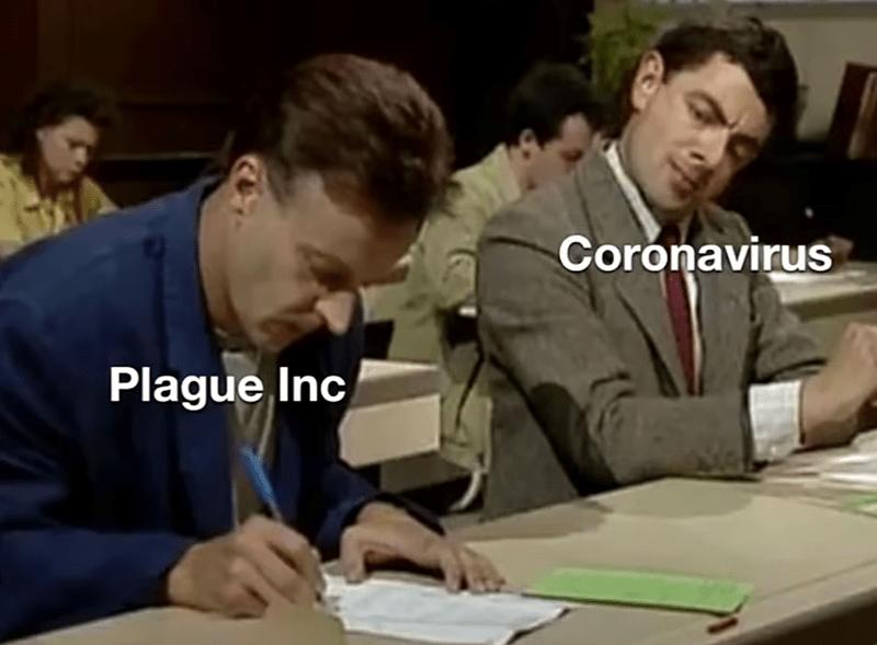 Job - Coronavirus Plague Inc