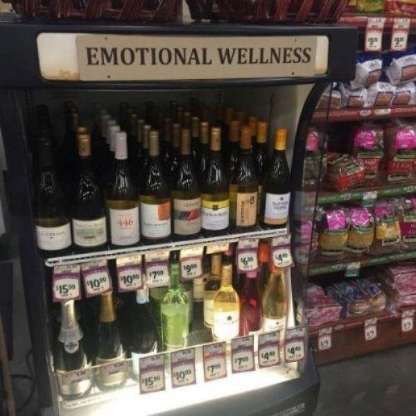 Alcohol - EMOTIONAL WELLNESS HOME 446 69 P15 10 107 15 10