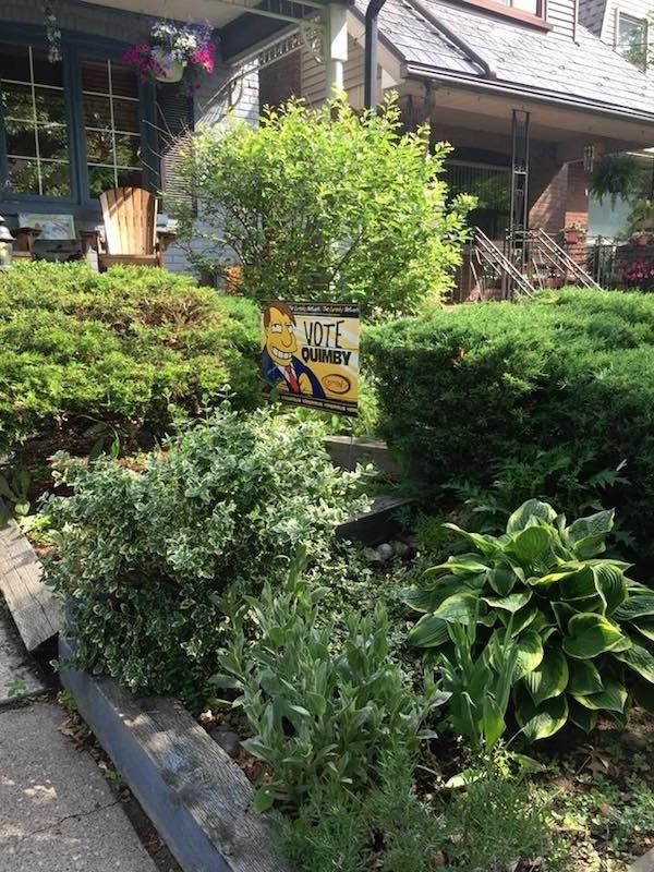 Garden - VOTE QUIMBY