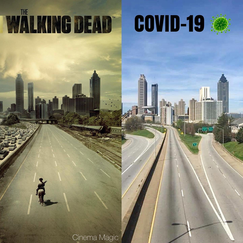 Sky - THE WALKING DEAD COVID-19 TM Cinema Magic