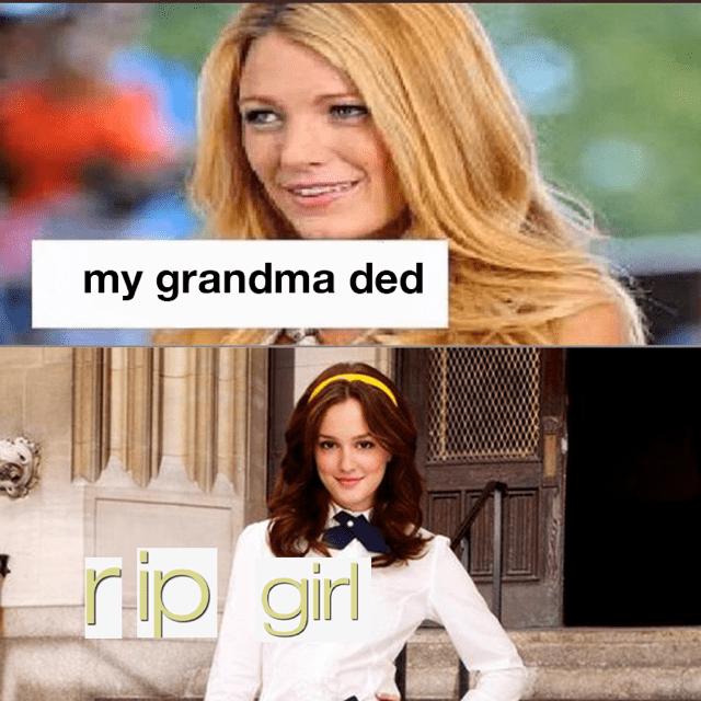 Hair - my grandma ded rip girl