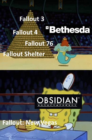"Cartoon - Fallout 3 ""Bethesda Fallout 4 Fallout 76 Fallout Shelter OBSIDIAN entert ainnen E Fallout: New Vegas"