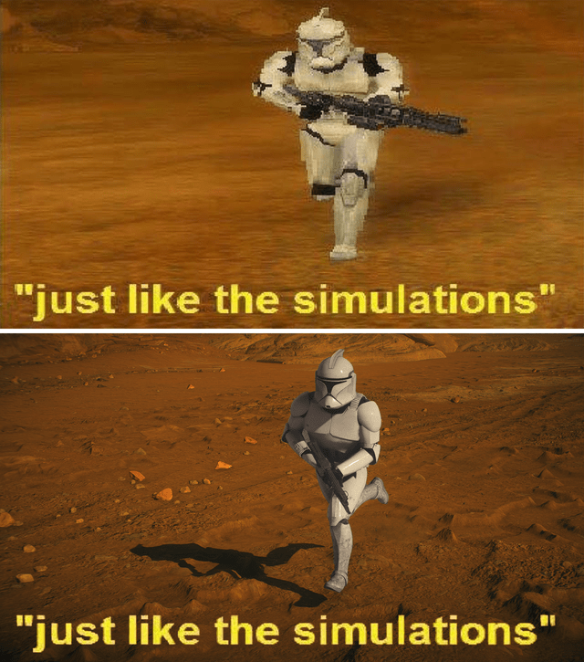"Text - ""just like the simulations"" ""just like the simulations"""