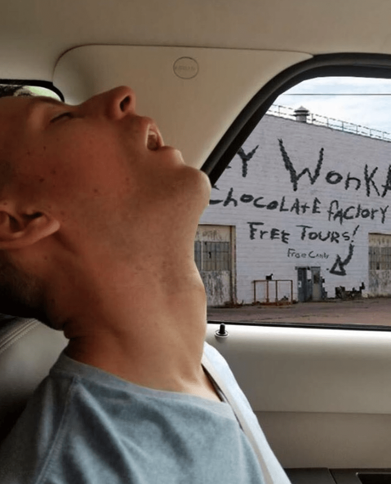 Forehead - Wonk ChocolAtE fAciory FREE TOURS! Froe Canlr