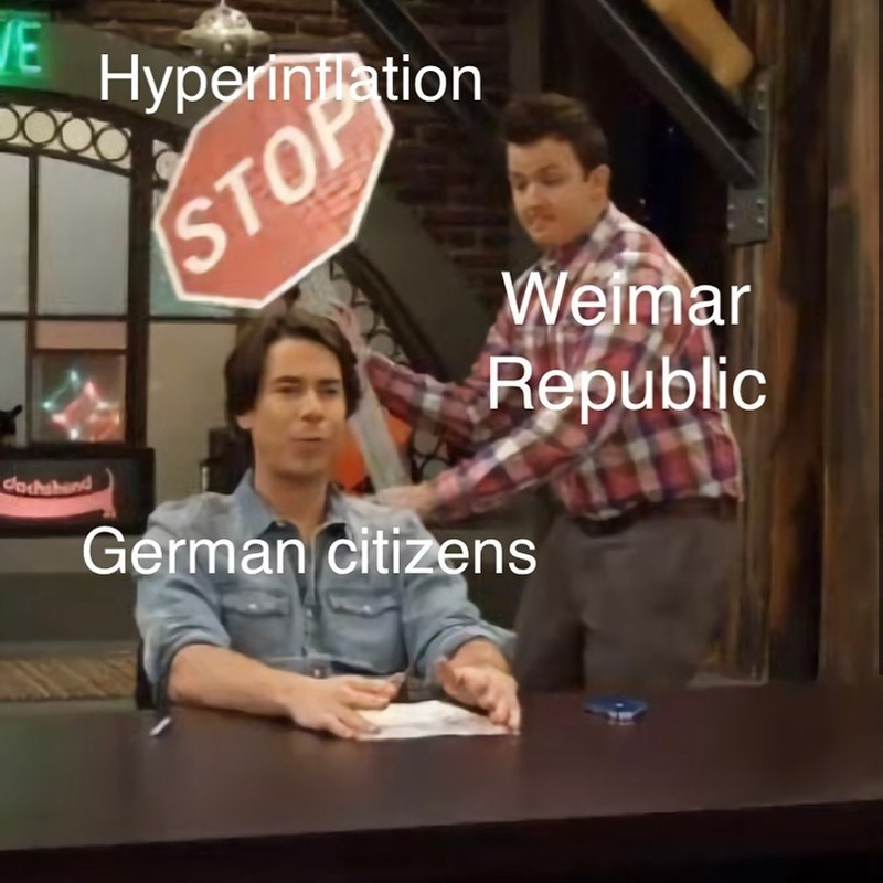 Fun - VE niation STOP Weimar Republic dachsband German citizens
