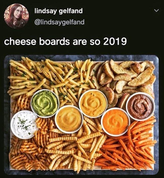 Junk food - lindsay gelfand @lindsaygelfand cheese boards are so 2019
