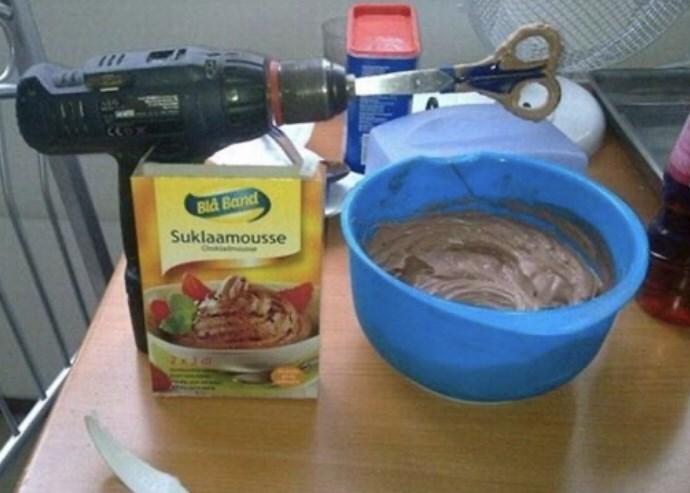 Food - Bld Band Suklaamousse