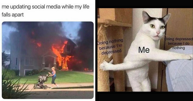 Funny and depressing memes