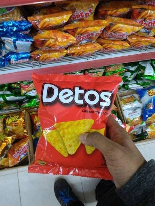 Junk food - ప్ర క GRONTON Detos Su Chicken Wis C A DOPRER MEE