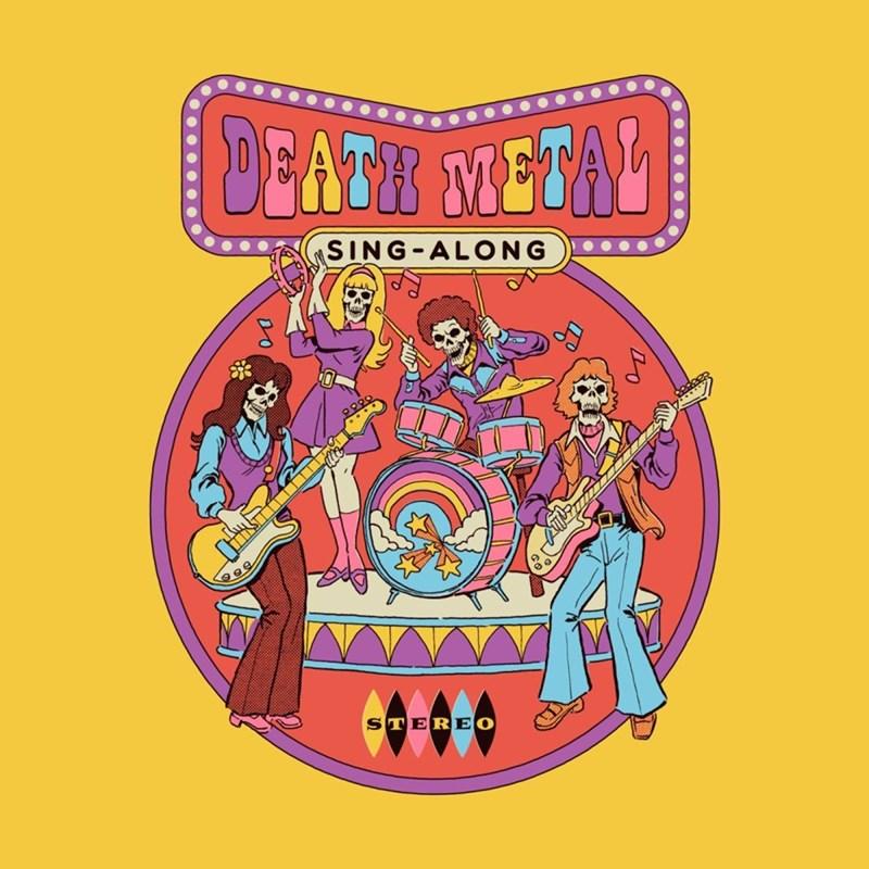 Cartoon - DEATH METAL SING-ALONG 0-0-0 STER EO