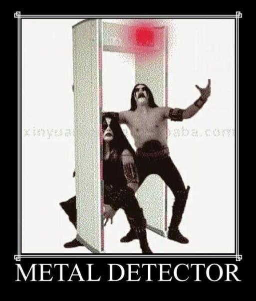 Poster - inyua aba.com METAL DETECTOR