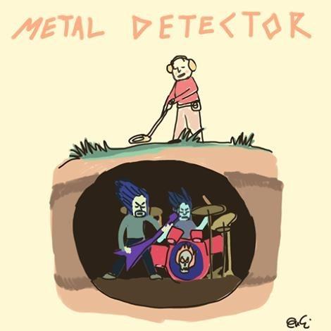 Cartoon - METAL DETE<TOR MM