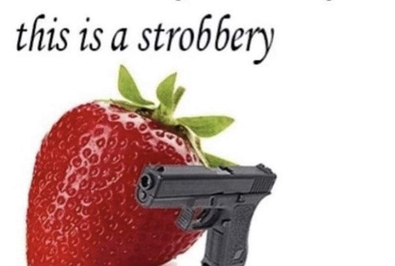 Natural foods - this is a strobbery