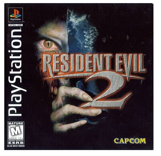 Home game console accessory - PlayStation NTSC U/C RESIDENT EVIL MATURE TM AGES 17+ CAPCOM CONTENT RATED BY ESRB SLUS-00421/00592 PlayStation|