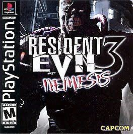 Pc game - RESIDENT MEMESIS CATURE CAPCOM PlayStation|