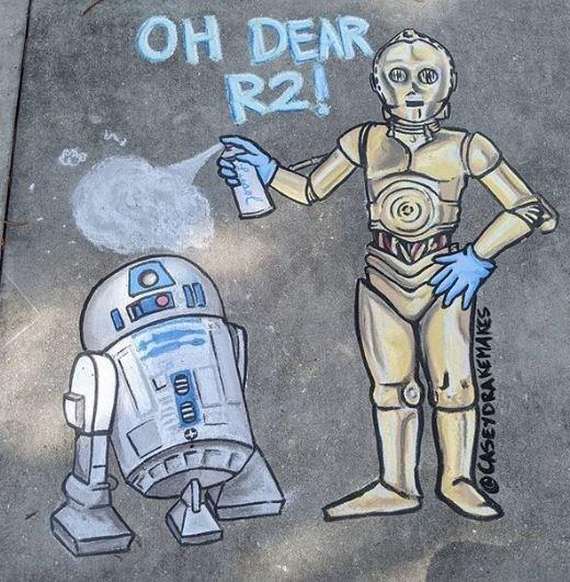 R2-d2 - OH DEAR R2! DD CASEYDRAKEMAKES