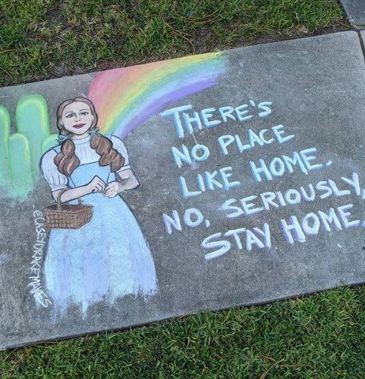 Headstone - THERE'S NO PLACE LIKE HOME. NO, SERIOUSLY STAY HOME ELUSEYORAKEMA