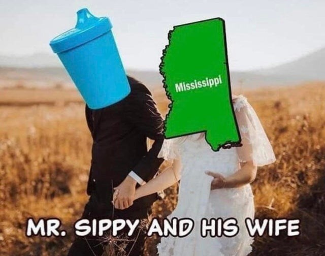 Font - Mississippi MR. SIPPY AND HIS WIFE