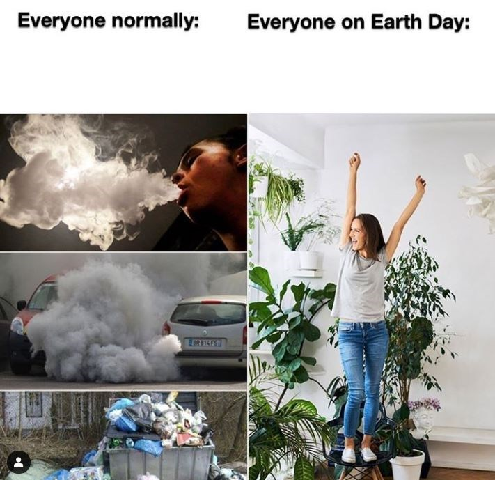 Human - Everyone normally: Everyone on Earth Day: EIR4E