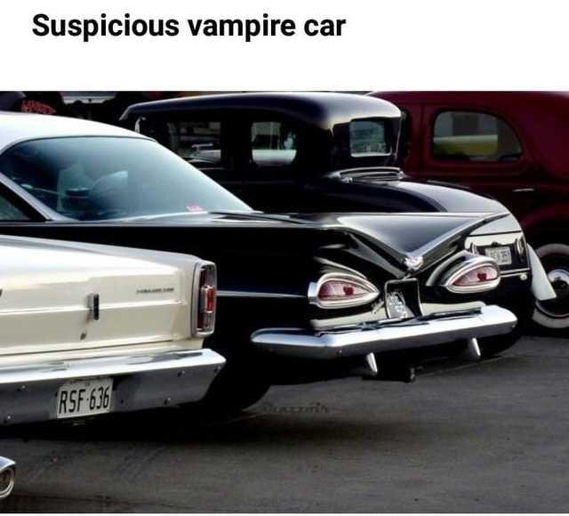 Land vehicle - Suspicious vampire car RSF 636