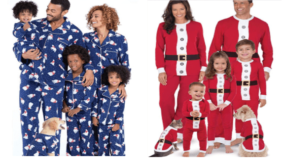 christmas pets pjs matching animals holidays - 9475077