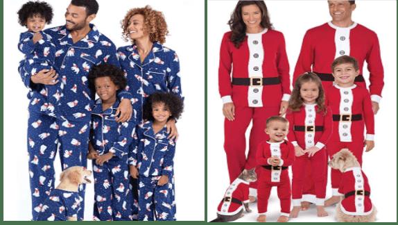 Matching pajamas for pets