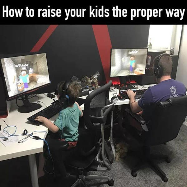 Job - How to raise your kids the proper way Hothuad opue