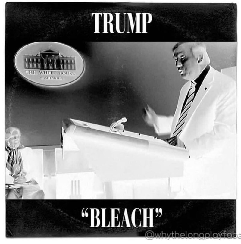 "Photography - TRUMP THE WIHITE THOUSE WASHHENGON ""BLEACH"" Owhythelongplovface"
