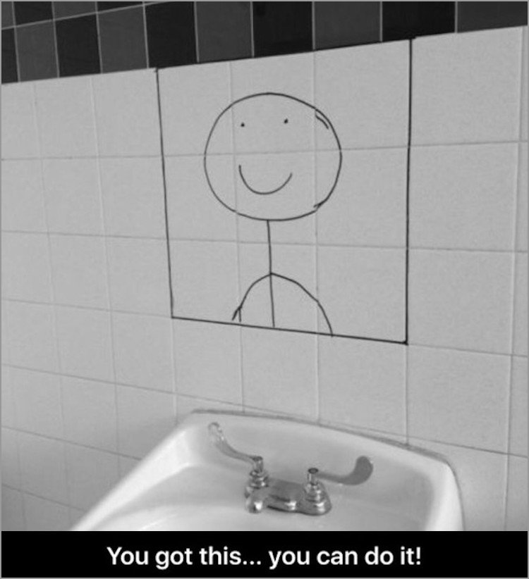 Tile - You got this... you can do it!