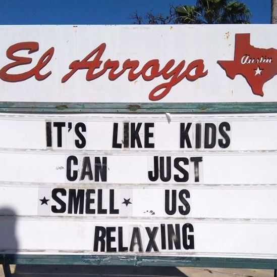 Font - El Arroys Austim IT'S LIKE KIDS CAN JUST SMELL US RELAXING